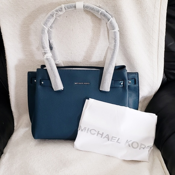571487e3cc4957 MICHAEL Michael Kors Bags | Michael Kors Addison Medium Pebbled ...